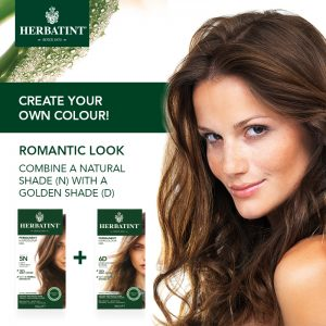 Herbatint Color Mix_Romantic look
